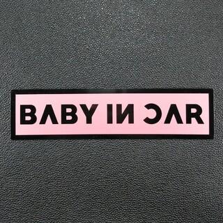 BABY IN CARマグネットステッカーブラックピンクBLACK PINK韓国(その他)