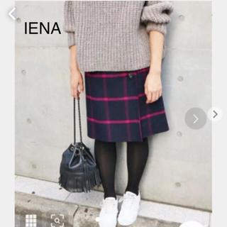 イエナスローブ(IENA SLOBE)のIENA Wフェイスリバーシブル ミニ丈スカート(ひざ丈スカート)