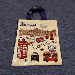 Harrods - 【未使用】ハロッズ トートバッグ (ネイビー)