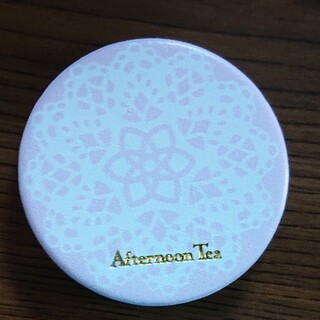 アフタヌーンティー(AfternoonTea)のAfternoon Tea ミニミラー 折り畳み 丸型 鏡 ピンクハウス(ミラー)
