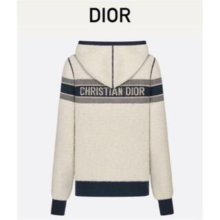 ディオール(Dior)のDior / オブリーク フード付きパーカー 21SS 希少(ニット/セーター)