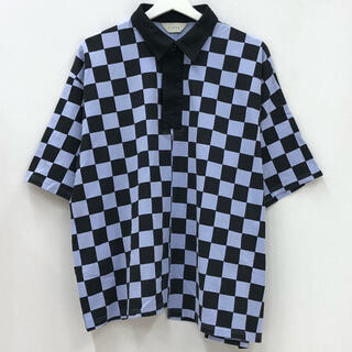 ジエダ(Jieda)のJieDa ポロシャツ ラベンダー×ブラック(ポロシャツ)