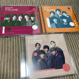セクシー ゾーン(Sexy Zone)のNOT FOUND  SexyZone  CDセット(男性アイドル)