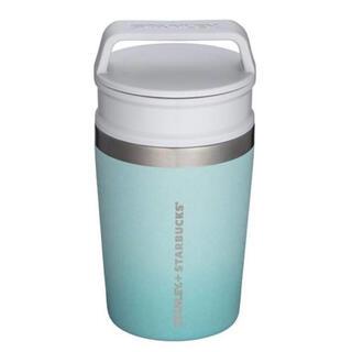 スターバックスコーヒー(Starbucks Coffee)のスターバックス スタンレー エメラルドグリーン手持ちステンレスタンブラー(タンブラー)