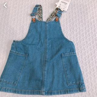 ザラキッズ(ZARA KIDS)のZARA baby デニム ジャンパースカート 86cm(ワンピース)