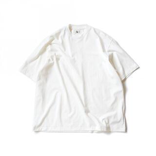 コモリ(COMOLI)のBLURHMS  SILK COTTON 20/80 CREW NECK BIG(Tシャツ/カットソー(半袖/袖なし))