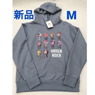 バンダイ(BANDAI)の新品 メンズ M ブルーグレー 仮面ライダー パーカー(パーカー)
