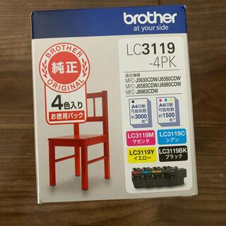 ブラザー(brother)の純正 ブラザー LC3119-4PK 大容量4色パック(オフィス用品一般)