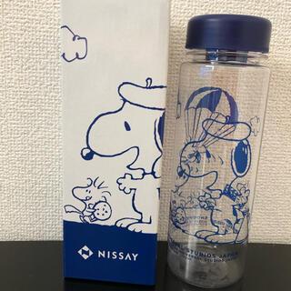 スヌーピー(SNOOPY)の【新品】日生 スヌーピー  クリアボトル(タンブラー)