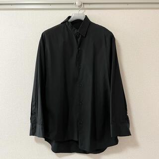 ラッドミュージシャン(LAD MUSICIAN)のLAD MUSICIAN ブロードクロスアシンメトリーシャツ 42(シャツ)