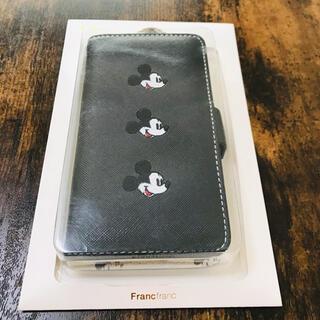 フランフラン(Francfranc)のFrancfranc×Disney 手帳型ケース iPhoneX/Xs(iPhoneケース)