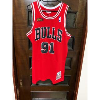シカゴブルズ NBA ユニフォーム NBA BULLS ロッドマン 91(Tシャツ/カットソー(半袖/袖なし))