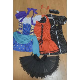 Leg Avenue - ジプシー、小悪魔、スチュワーデス衣装3セット+ペチコート+ネックレス✨