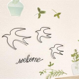 🕊ワイヤーアート ワイヤークラフト つばめ 鳥(その他)
