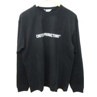 クーティー(COOTIE)のクーティー 21SS Tシャツ 長袖 クルーネック プリント コットン M(Tシャツ/カットソー(七分/長袖))