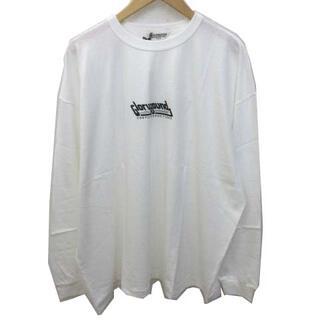 クーティー(COOTIE)のクーティー 21SS Tシャツ 長袖 オーバーサイズ プリント クルーネック M(Tシャツ/カットソー(七分/長袖))