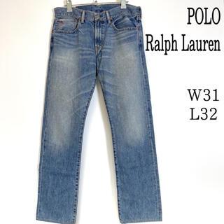 ポロラルフローレン(POLO RALPH LAUREN)のポロ ラルフローレン ストレート デニムパンツ ジーンズ 31(デニム/ジーンズ)