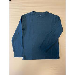 ルメール(LEMAIRE)のUNIQLO and LEMAIRE ネイビー 長袖 Tシャツ サイズM(Tシャツ/カットソー(七分/長袖))