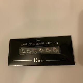 ディオール(Dior)のDIORネイルジュエルアートセット ロゴジュエル(ネイル用品)