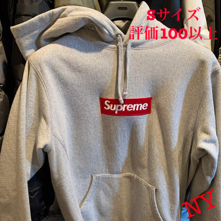 シュプリーム(Supreme)のsupreme box logo Sサイズ(パーカー)