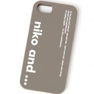 ニコアンド(niko and...)のNiko and…iPhoneケース (iPhoneケース)