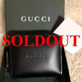 グッチ(Gucci)のGUCCIグッチ ラウンドファスナーミニ小銭入れ コインケース✨新品未使用✨!(コインケース/小銭入れ)