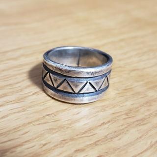 マライカ(MALAIKA)のRandy Bubba ランディーババ インゴットシルバー リング インディアン(リング(指輪))