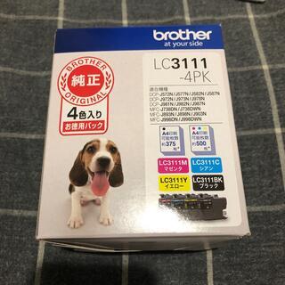 ブラザー(brother)のインク ブラザー 純正 カートリッジ LC3111-4PK インクカートリッジ (オフィス用品一般)