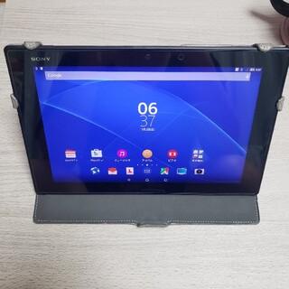 ソニー(SONY)のSONY Xperia Z2 Tablet SOT21 BLACK(タブレット)