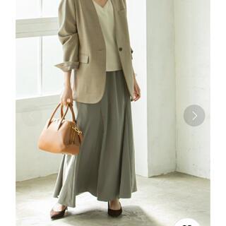 ノーブル(Noble)のnoble♡パネルソフトフレアスカート(ロングスカート)