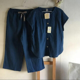 narue - ♡ナルエー♡ Wガーゼ刺繍ルームウェア 新品未使用