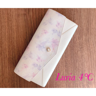 ヨンドシー(4℃)のLuria  4℃   ルリア レディース 長財布 美品(財布)