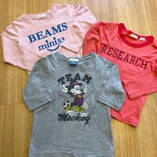 ビームス(BEAMS)のビームス キッズ トップス 3点セット 110(Tシャツ/カットソー)