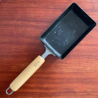 匠JAPAN 玉子焼き小 マグマプレート 鉄鍋 卵焼き フライパン 鉄 IH(鍋/フライパン)