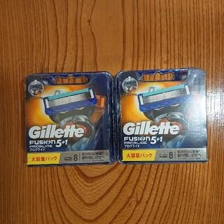 ジレ(gilet)のジレット フュージョン5+1 プログライド 8個入り×2セット合計16個 新品未(カミソリ)