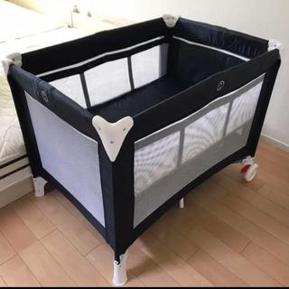 KATOJI - KATOJI ベビーベッド カトージ 赤ちゃん プレイヤード 折り畳み お昼寝