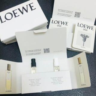 LOEWE - 2本セット ロエベ 001 オードパルファム サンプル LOEWE