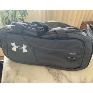 アンダーアーマー(UNDER ARMOUR)のガンモショップ様専用 アンダーアーマー グレー スポーツバッグ(バッグパック/リュック)