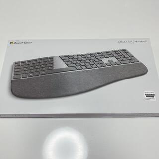 マイクロソフト(Microsoft)の【未使用品】Microsoft エルゴノミック キーボード 英字キー配列(PC周辺機器)