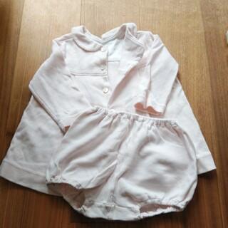 ベビーディオール(baby Dior)のbabyDior ピンクのお洋服(ワンピース)
