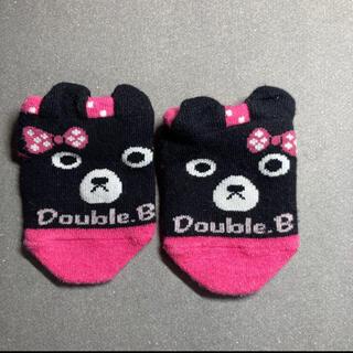 DOUBLE.B - ダブルビー 靴下