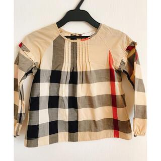 バーバリー(BURBERRY)のバーバリー 女児 トップス 7Y 110 120 122(Tシャツ/カットソー)