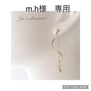 m.h様 専用ページ(イヤリング)