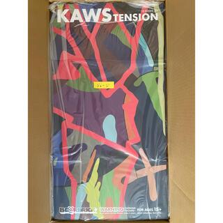 メディコムトイ(MEDICOM TOY)の手渡し可 BE@RBRICK KAWS TENSION 1000%(その他)