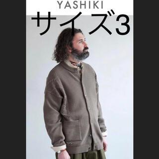 ワンエルディーケーセレクト(1LDK SELECT)のYASHIKI 21AW Shigure Cardigan (MOCHA)(カーディガン)