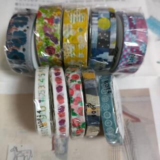 ソウソウ(SOU・SOU)の新商品  mt×SOU・SOU  コラボマスキングテープ  10点セット(テープ/マスキングテープ)