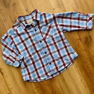 ユナイテッドアローズ(UNITED ARROWS)のアローズ男の子チェックシャツ(Tシャツ/カットソー)