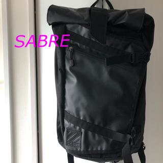 セイバー(SABRE)のSABRE バックパック リュック ブラック(バッグパック/リュック)