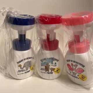 ロンハーマン(Ron Herman)の空容器 ロンハーマンコラボ ビオレu  青 赤 ピンク 3個セット(容器)