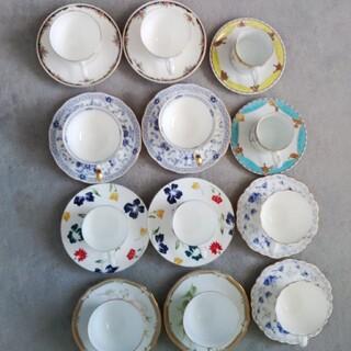 洋風コーヒーカップ2組、計6セット詰合せ(グラス/カップ)